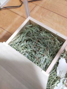 牧草 巣材
